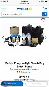 Medela Double Pump In Style
