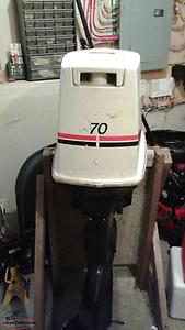 70 Johnson outboard for sale