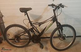 MEN'S 21 SPEED MOUNTAIN BIKE IN GOOD WORKING CONDITION