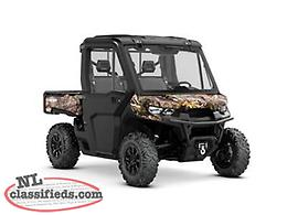 Fun 'n' Fast Deal - SAVE $1,500 on a NEW 2019 Can-Am Defender XT CAB HD10!