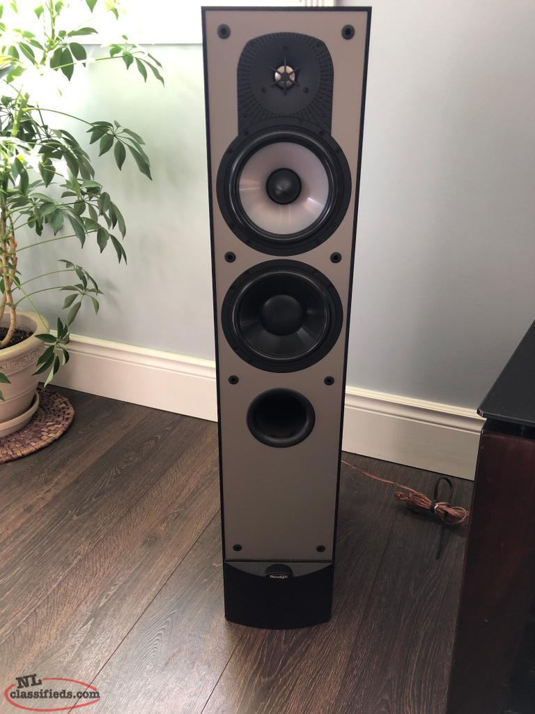 DENON Five Disc CD Player, receiver and two Paradigm Monitor 7 V 3 Speakers