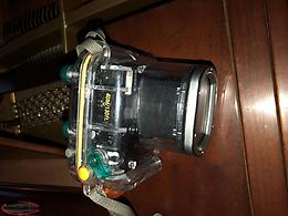 Canon G7 Camera and Canon WP-DC11 waterproof diving case