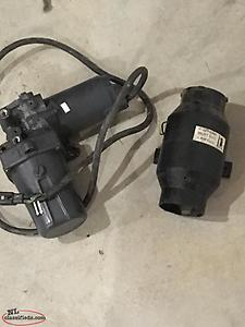 Power Trim pump and exhaust blower ( inboard / outboard ) ( Wants Gone )