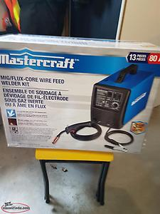 Mastercraft Welder kit