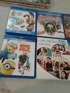 20 assorted Blu-ray DVD movies
