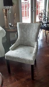 For sale – chair in excellent condition / white . Priced to sell