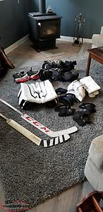 Youth goalie equipment for sale