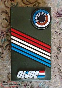 Vintage 1980's G.I. Joe AM Pocket Radio