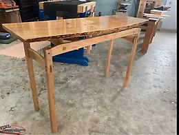 Birch Slab Table Hand Made