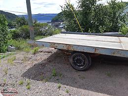 For sale 7x10 skidoo trailer