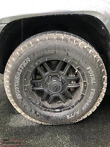 Toyota wheels & tires 4 Runner