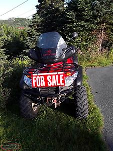 2013 CF Moto Trail Tracker 500 2 Up 4x4