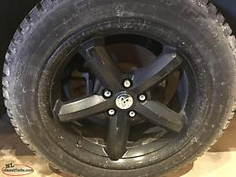 225/55/R18 Winter Tires And Rims