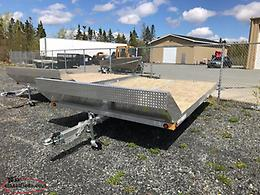 2019 ALUMINUM DOUBLE SNOWMOBILE TRAILER AS LOW AS $41 BIWEEKLY