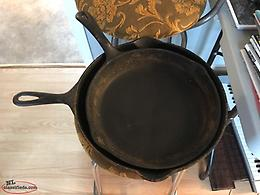one Cast Iron Frying Pan