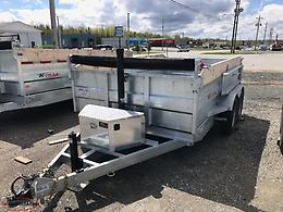 2019 WEBER LANE GALVANIZED TRAILER Pmts as low as $82/biweekly