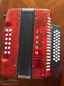 ROSSI BUTTON ACCORDION