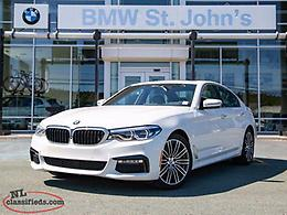 2018 BMW 5 Series $326 B/W PLUS TAX