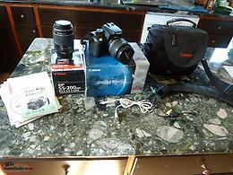 Canon EOS Digital Rebel XT 8 0MP SLR Digital Camera