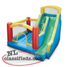 Little Tikes Giant Slide Bouncy Castle