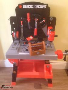 Black And Decker Child's Tool Bench Toy