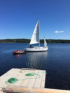 For sale or trade catalina sailboat
