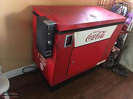 Early 60,s Coke Cooler