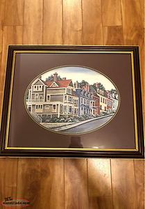 The Old Neighbourhood Framed Print By Catherine Karnes Munn