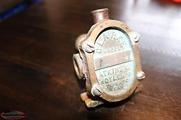 ANTIQUE OBERDORFER 60 ROTARY GEAR PUMP FOR A HIT AND MISS GAS BOAT MOTOR
