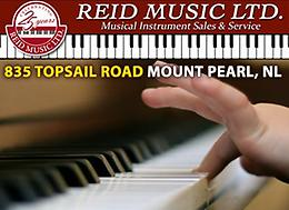 REID MUSIC LTD - LESSON CENTER