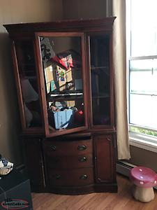 Vintage China Cabinet - one singular piece