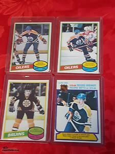 Complete Set 1980 / 81 OPC Hockey Cards MESSIER Bourque ROOKIES + 6 GRETZKY 2nd Year Cards