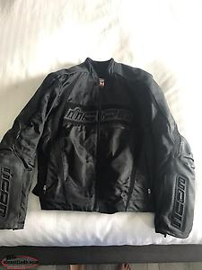 MENS ICON MOTORCYCLE JACKET
