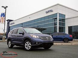 2012 Honda CR-V Touring 4WD-$151.01 B/W TAX IN