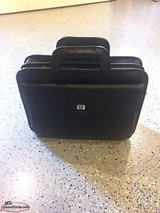 Computer bag & combination lock brief case on wheels