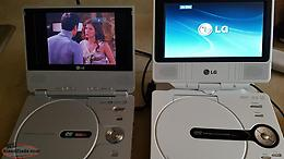 Perfect portable DVD players