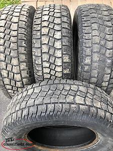 Winter Tires 245/75R17