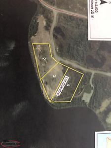 Water front land forsale in butt's pond.