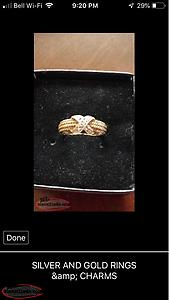 10K Gold Promise Ring