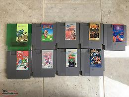 Nintendo NES, SNES, and Gameboy (GBA) games - Prices Listed