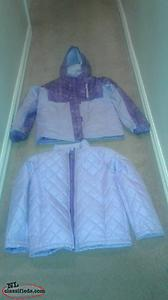 2 in 1 Girls Winter Coat For Sale! (size XL 14-16)