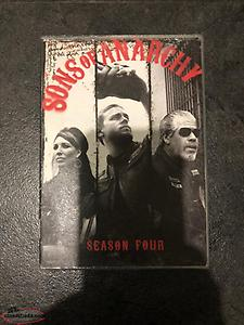 Sons of Anarchy DVD's Season 4