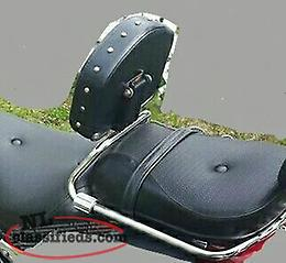 WANTED TO BUY RIDERS BACKREST FOR A 2002 KAWASAKI VULCAN 800 CLASSIC. AND A FRONT TIRE 130 90 16""