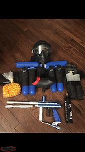Paintball gun and BB gun