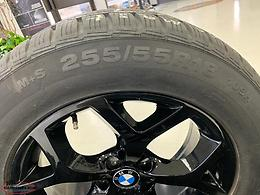 "BMW Winter 18"" Rims w/ Continental Mud + Snow Tires ***LIKE NEW***"