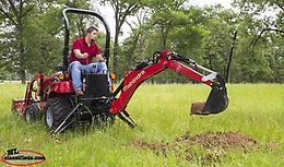 Mahindra eMax 20S Tractor, Loader and Backhoe