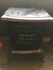 Old Franklin Wood Stove