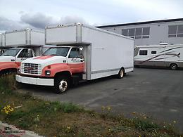 2000 GMC 6500/ 26' Moving Van, 454 V8 (Fuel Injected) w/5 Spd Allison Auto Trans