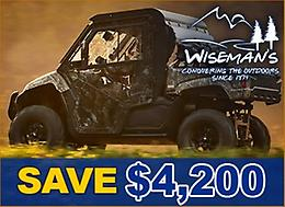 SAVE $4,200 On a 2019 Viking EPS SXS!