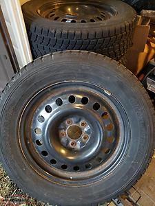 235/65/R18 winter tires and rims